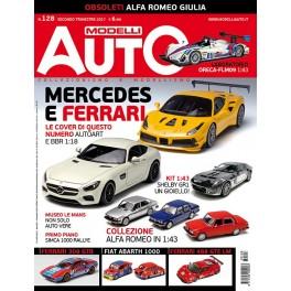 Modelli AUTO N°128 secondo trimestre 2017