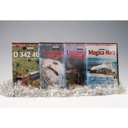 OFFERTA Natale 4 DVD D342+Il Coccodrillo RHb+Loc. Tedesche+ Magica Harz