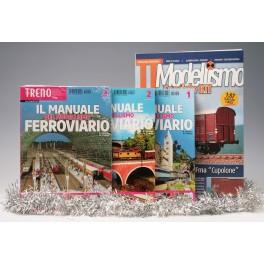 OFFERTA Natale Fascicoli MANUALE Modellismo n1,2 e 3 + Carro TTM kit  Cupolone