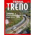 TuttoTRENO TEMA N. 25 - Treni e composizioni FS anni '80