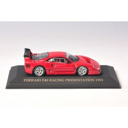 OF106 - Ixo Models Ferrari F40 Racing Presentation 1991 - FER018