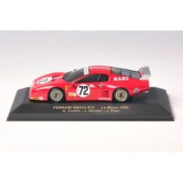 OF093 - Ixo Models Ferrari BB512 N.72 - Le Mans 1982 - FER016