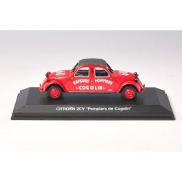 OF082 - Norev Citroen 2CV Pompiers de Cogolin - 150079