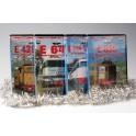 OFFERTA Natale 4 DVD dedicato alle Locomotive 428+646+444+636