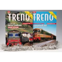 OFFERTA Natale  Tutto TRENO Collezione n° 221, 320 Loc. Disel D 345+341