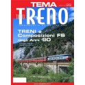 TuttoTRENO TEMA N. 26 - Treni e composizioni FS anni '90