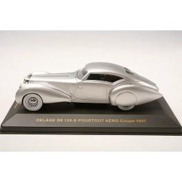 IxoModels - Delage D8 120-S Pourtout Aero Coupe 1937 MUS054 1/43