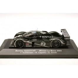 IxoModels - Bentley speed 8 7 Vincitore LeMans 2003 LM2003 1/43