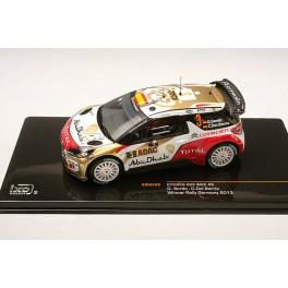IxoModels - Citroen DS3 WRC 3 Vincitore Rally Germania 2013 RAM538 1/43