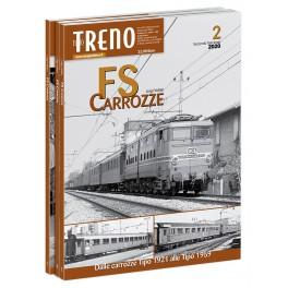 2 CARROZZE FS secondo fascicolo Dalle carrozze Tipo 1921 alle Tipo 1959