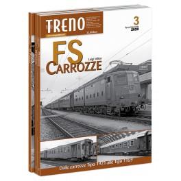 CARROZZE FS Terzo  fascicolo Dalle carrozze Tipo 1921 alle Tipo 1959