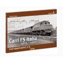 CARRI FS Italia 1905-1960 - Carri coperti serie e, f, g - 1° Fascicolo