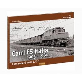 1 Fascicolo CARRI FS Italia 1905-1960 - Carri coperti serie e, f, g