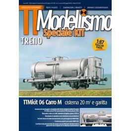 TTM Kit N. 6 - Carro Cisterna M con garitta