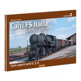 2 CARRI FS Italia 1905-1960 - Carri coperti serie E,F, G - 2° Fascicolo Luglio 2021