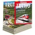 Abbonamento TuttoTRENO annuale + 1 Monografia TEMA