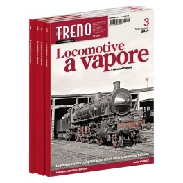 Fascicolo Locomotive a Vapore - 3° volume luglio 2014