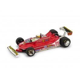 Ferrari 312 T4 G.P. Italia 1979 1° Jody Scheckter 11 con PILOTA - Art. R511-CH