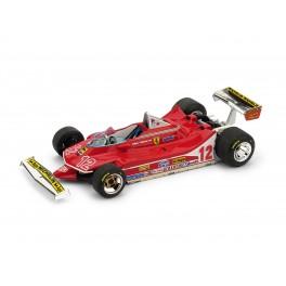 Ferrari 312 T4 G.P. Francia 1979 2° Gilles Villeneuve 12 - Art. R512
