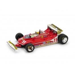 Ferrari 312 T4 G.P. Monaco 1979 1° Jody Scheckter 11 con PILOTA - Art. 513-CH