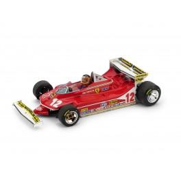Ferrari 312 T4 G.P. Monaco 1979 Gilles Villeneuve 12 con PILOTA - Art. R514-CH