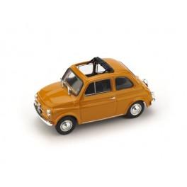 Fiat 500F aperta 1971-72 giallo Positano - Art. R454-13